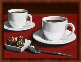 Strast i čokolada,  uramljena slika