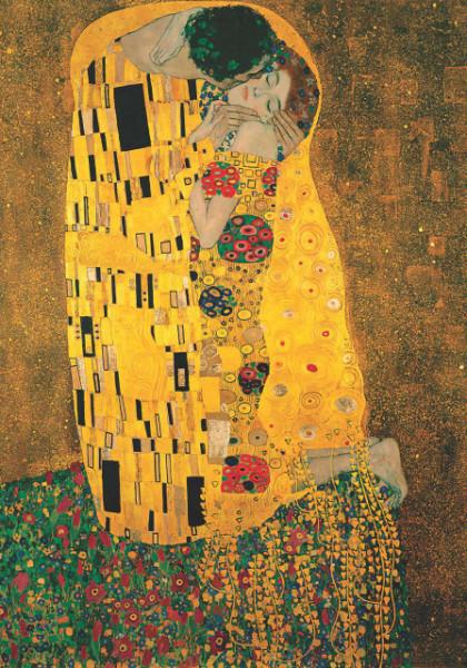 The Kiss, G. Klimt, uramljena slika 70x100cm