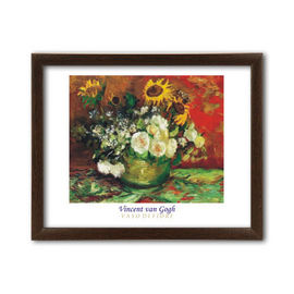 Vaso Di Fiori, Vincent van Gogh, uramljena slika