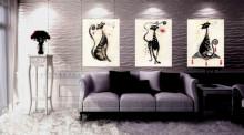 Ani, Boni i Cica, uramljena slika 40x50cm svaka