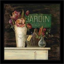 Antiquites & Jardin, uramljena slika