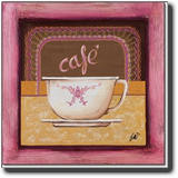 Cafe,  slika na medijapanu