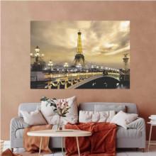 Eiffel tower, uramljena slika 70x100cm