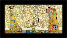 G. Klimt, Il fregio di Stoclet, framed picture