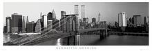 Manhattan morning, uramljena slika
