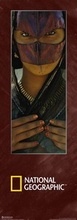 Masked Beduin girl
