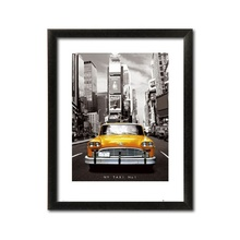 NY Taxi NO1, framed picture, 60x80cm