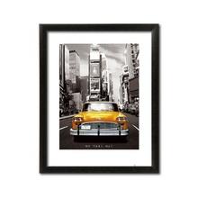 NY Taxi NO1, uramljena slika, 60x80cm