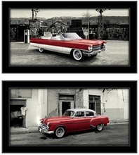 Red oldsmobiles, picture