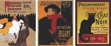 Stari Francuski posteri, dimenzije 40x50cm svaka