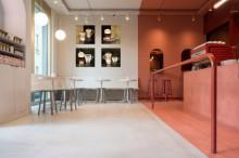 Svet Kafe, 4 slike dimenzije 30x30 cm svaka