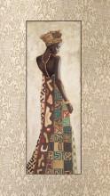 Chuki, uramljena slika dimenzije 35x100 cm