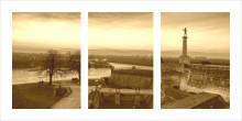 Kalemegdan Pobednik, uramljena slika 50x100 cm