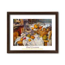 Natura Morta Con Panier, Paul Cezanne, uramljena slika