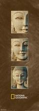 Wooden statue, Thailand uramljena slika