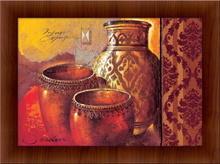 Antičke vaze, uramljena slika