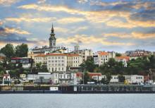 Beograd Saborna crkva , uramljena slika 70x100cm