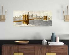 Brooklyn bridge New York,, uramljena slika 50x100cm