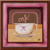 Cafe,  uramljena slika