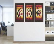 Jonna, tri uramljene slike dimenzije 30x70cm svaka