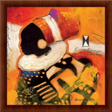 Mama malawi,  uramljena slika