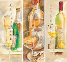 Vrhunska vina, slike na medijapanu
