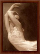 Balerina Angelina, uramljena slika