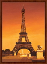 Eiffel tower in Paris, framed picture