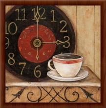 Kafe pauza, uramljena slika