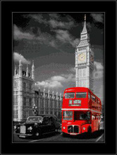 London 3D uramljena slika