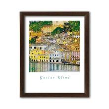 Malcesine sul Garda, Gustav Klimt, uramljena slika