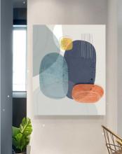 Mundis, uramljena slika 70x100cm