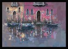 Tišina Venecije, uramljena slika