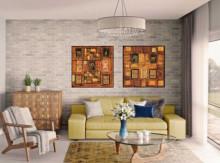 Zuki Africa, dve uramljen slike 50x50cm svaka