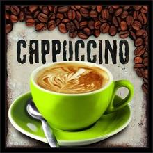 Cappuccino, uramljena slika
