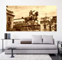 Spomenik Knezu Mihajlu, uramljena slika 50x100cm