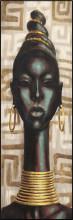 Abiona, uramljena slika dimenzije 35x100cm