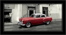Red oldsmobile, picture