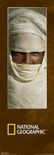 Tuareg man, central Niger, uramljena slika