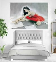 Balerina, uramljena slika 70x100cm