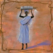 Daliala, uramljena slika 50x50 cm