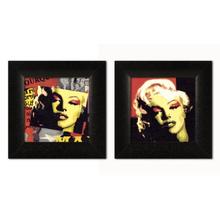 Merilin Monro, dve uramljene slike