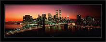 Njujork - Bruklinski most, uramljena slika