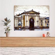 Zeleznicka stanica Beograd, uramljena slika 50x70cm