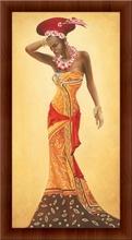 Africka kraljica, uramljene slike