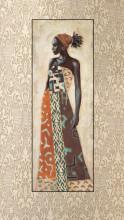 Chiku, uramljena slika dimenzije 35x100cm