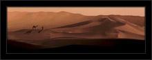 Peščane pustinjske dine, uramljena slika
