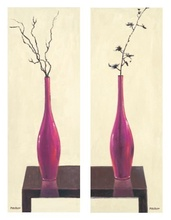Pink vases, picture