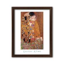 Poljubac, Gustav Klimt, 40x50 uramljena slika