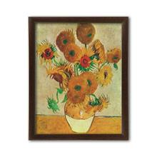 Sunflowers, Vincent van Gogh, uramljena slika